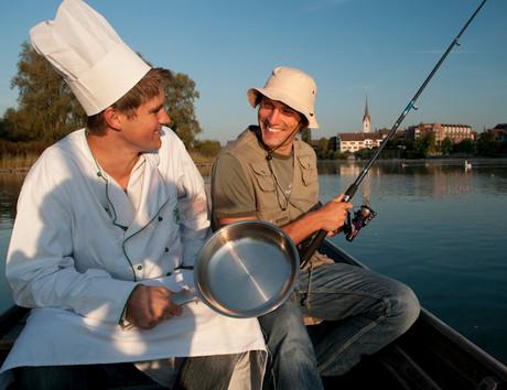 Fischwochen-Angler
