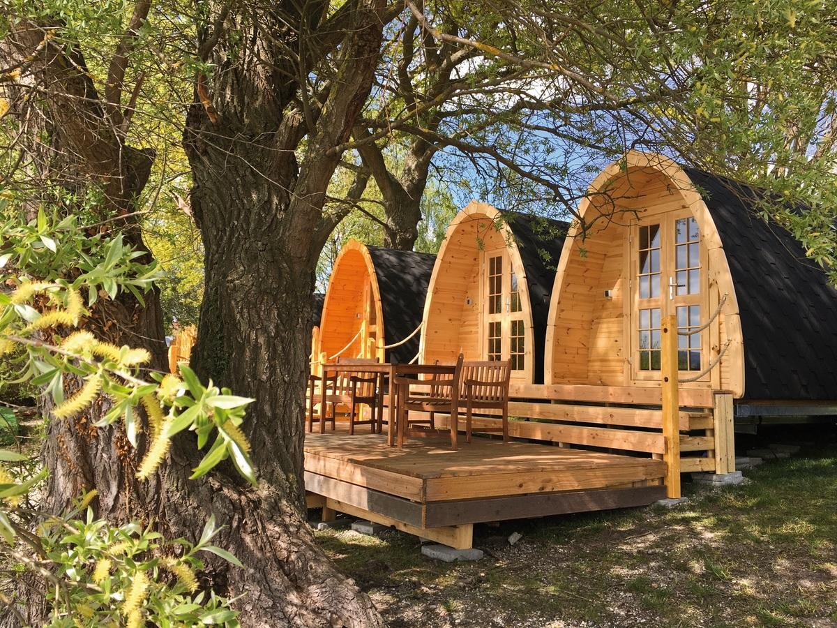 Camping Allensbach Hütten