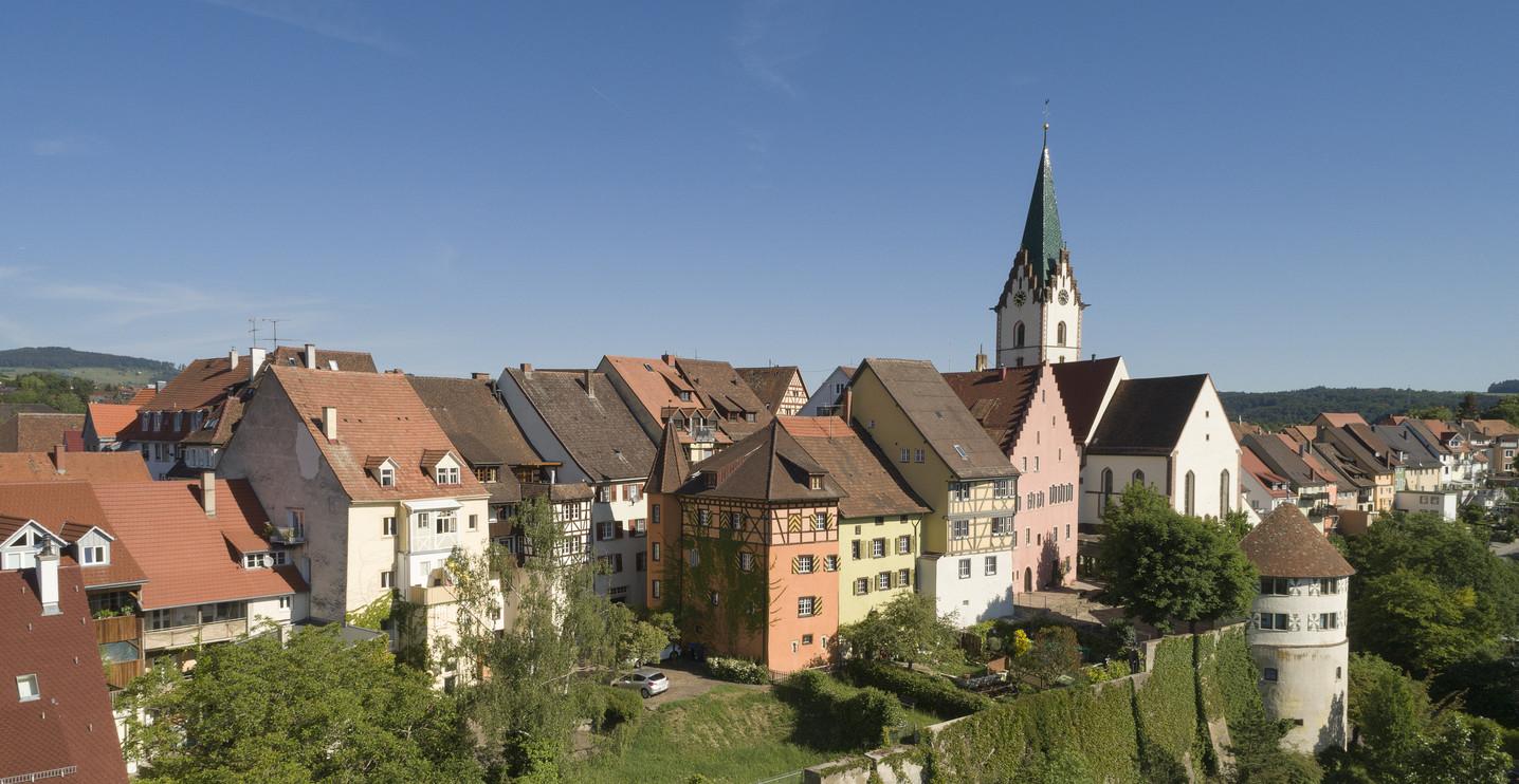 Blick auf Altstadt Engen