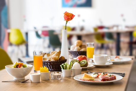 Frühstück Hotel Trezor