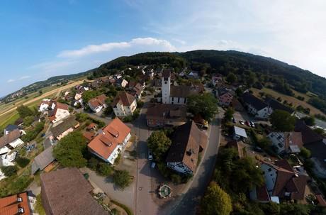 Moos-Bankholzen Luftbild