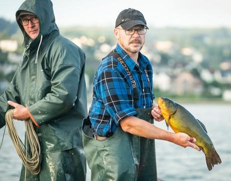 Bodensee-Fischwochen   Pressebild Fischer am Untersee 3