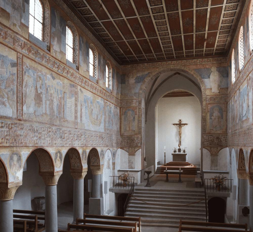 Wandmalereien St. Georg