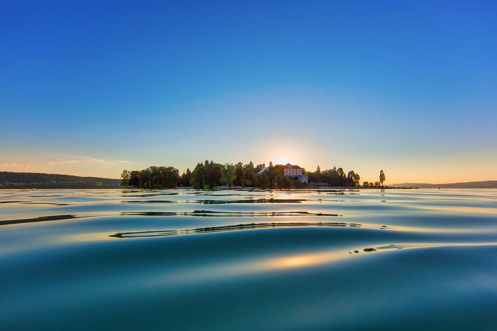 Insel Mainau Abendstimmung