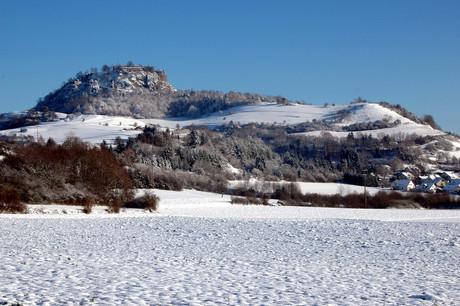Hohentwiel Singen Winter