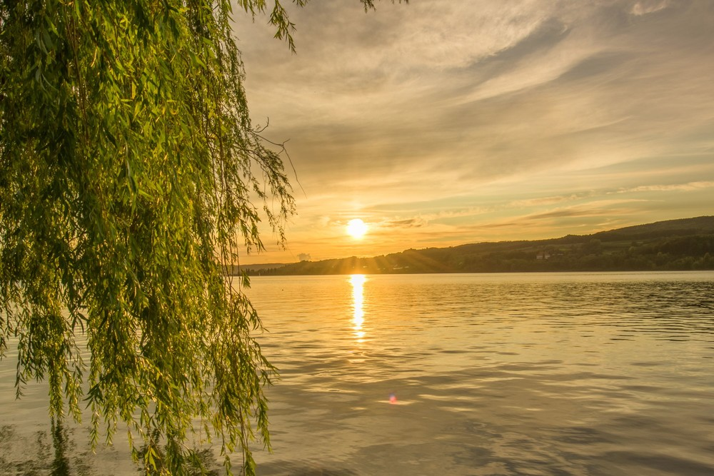 Sonnenuntergang Steckborn