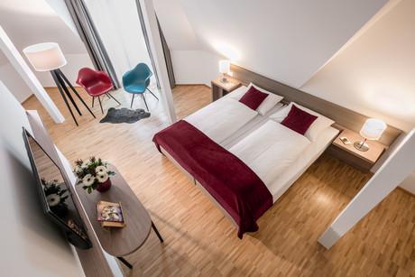 Hotel Trezor Doppelzimmer