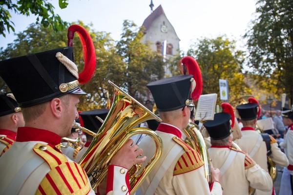 Inselfeiertag Bürgermusik