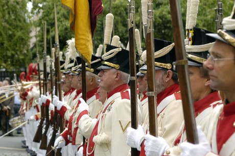 Bürgerwehr Parade